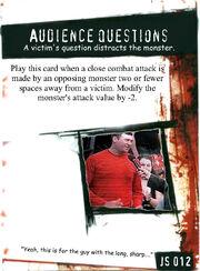 JS012 Audience Questions