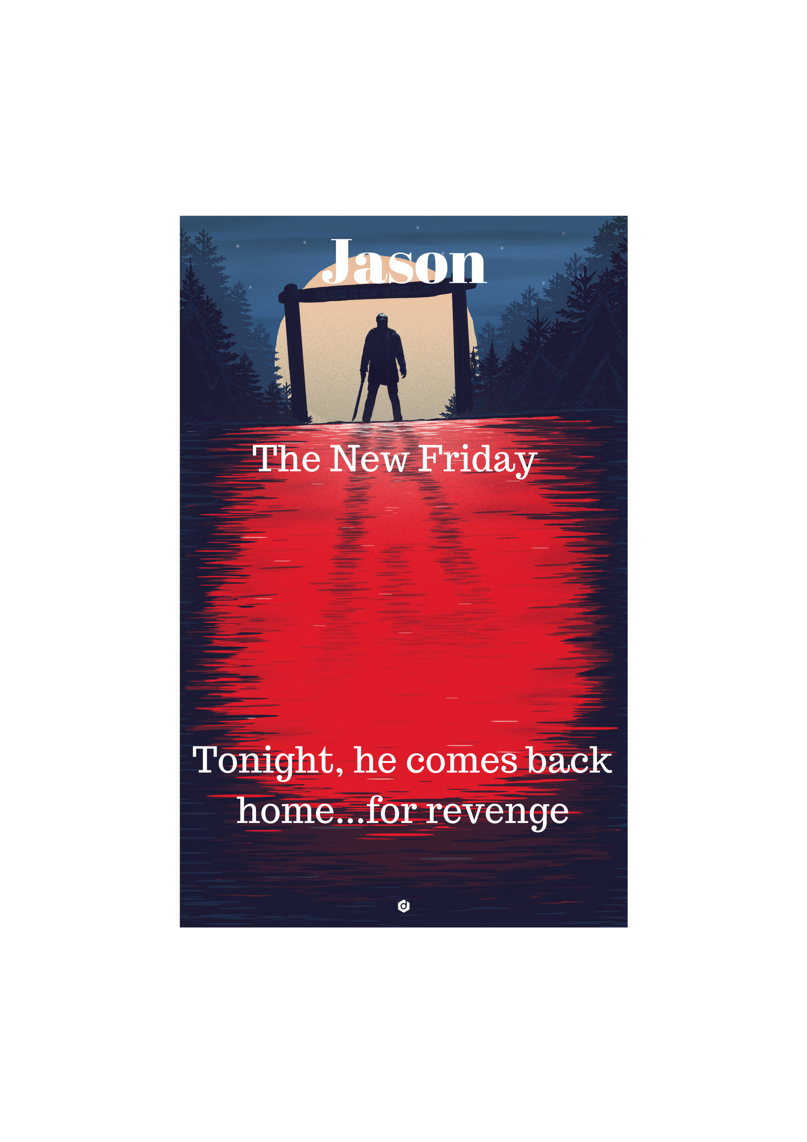 Jason The New Friday Poster