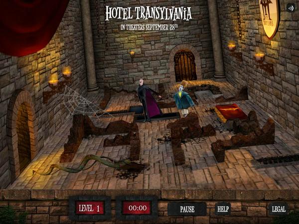 Maze Game Screen 1