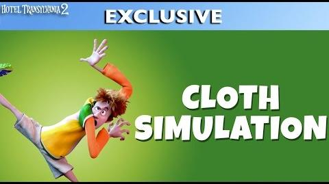 Hotel Transylvania 2 - Cloth Simulation