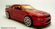 CUSTOM RED NISSAN 4