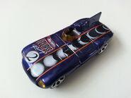Jaguar D-Type side