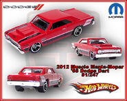 2012 Muscle Mania-Mopar 68 Dodge Dart 81-247