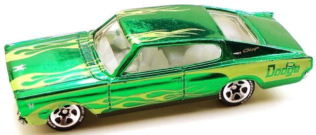 File:67dodgecharger classics green.JPG