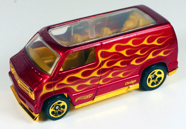 File:77 Dodge Van - 12 Heat Fleet Red.JPG