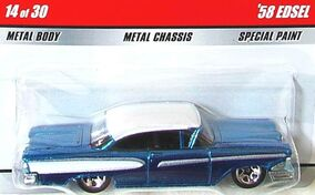 1958 Edsel Blue