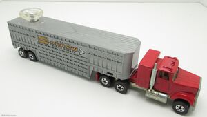 White Cattle Trailer-24693