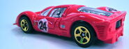 Ferrari P4 rear 3 quarter view