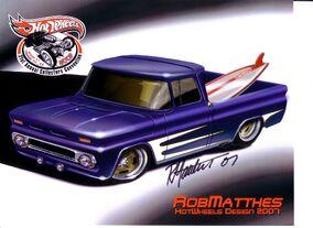 Custom '62 Chevy Rob Matthes