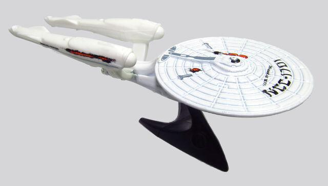 File:2013 X1965 USS Enterprise NCC-1701 Battle Damaged.jpg