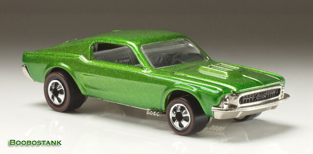 File:MustangCustomVintage - 25th Anniv Green.jpg