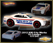 2012 HW City Works 10 Camaro SS