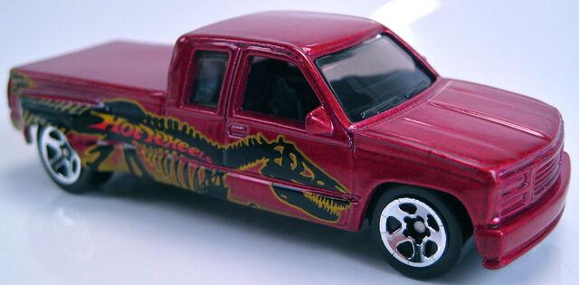 File:Customized C3500 pickup T-Wrecks 5-pack 2003.JPG