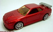 CUSTOM RED NISSAN 1