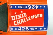 Dixie Challenger Hood Detail 1982 - 7738bf
