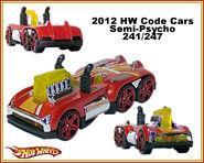 2012 HW Code Cars Semi-Psycho 241-247