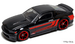 07 custom ford mustang black