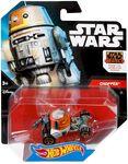 CGW46 Hot Wheels Star Wars Character Car Chopper XXX