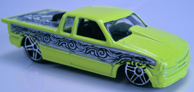 File:Chevy pro stock truck neon yellow skin deep series.JPG