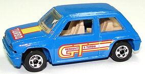 Renault 5 Turbo Blu