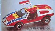 Mercededsbenzc111-74 cat
