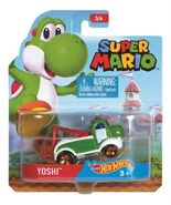 Super Mario Character Car Yoshi package