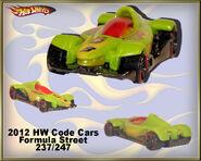 2012 HW Code Cars Formula Street