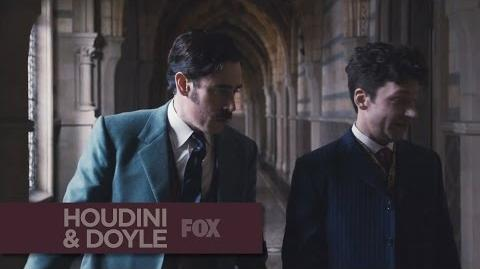 """HOUDINI & DOYLE - Time Is Of The Essence from """"The Maggie's Redress"""" - FOX BROADCASTING"""