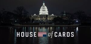 House of Cards title card