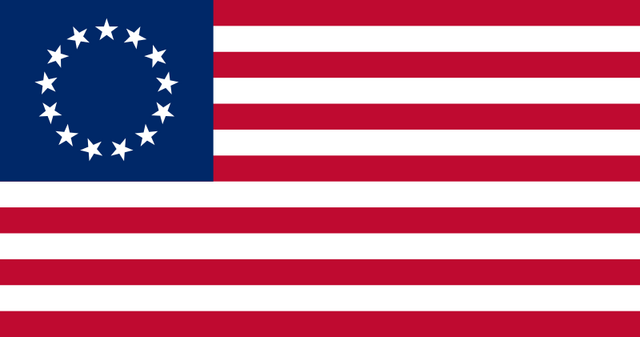 File:United States of America flag 13 stars Betsy Ross.png