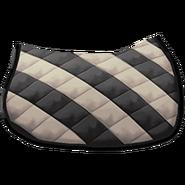 Klassische Satteldecke 2 Schwarz Weiß