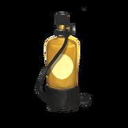 Ausgrabung Taucherflasche