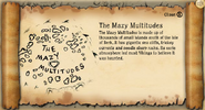 The Mazy Multitudes