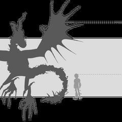 Tamaño del Armorwing