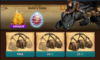 Baldrs Table ROB 3