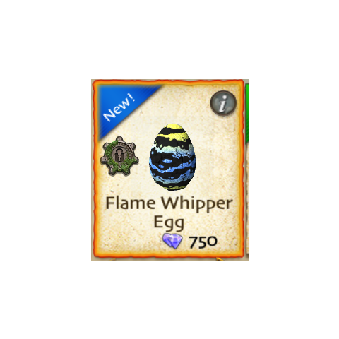 Huevo de Flame Whipper