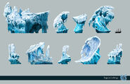 A Lagoon icebergs