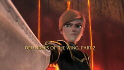 Defenders of the Wing, Part 2 title card
