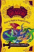 How to Fight a Dragon's Fury American Cover