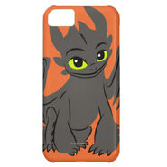 Toothless Illustration 02 iPhone 5C Cover