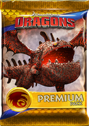Magmadon on Card Pack