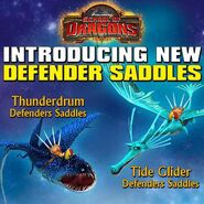 Thunderdrum and Tide Glider Saddles