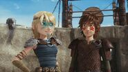 Astrid and Hiccup Dawn of the Dragon racers