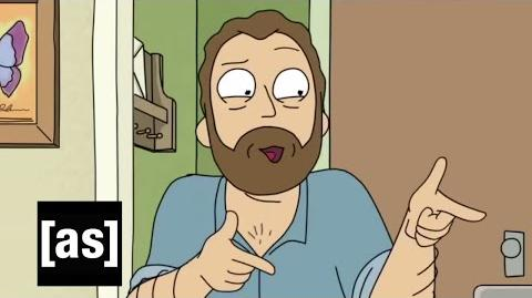 Uncle Steve Rick and Morty Adult Swim