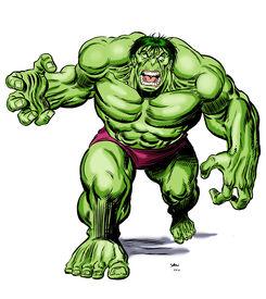 The Savage Hulk 001