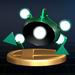 Green Alloy - Brawl Trophy