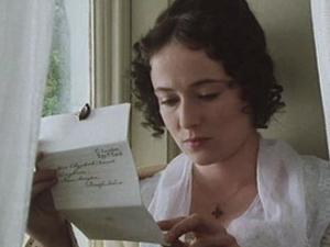 26 elizabeth reads letter Pride and Prejudice