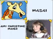 Masai and Amy Christine Maier