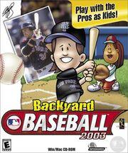 Backyard Baseball 2003 Box