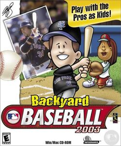 Backyard Baseball 2003 Box